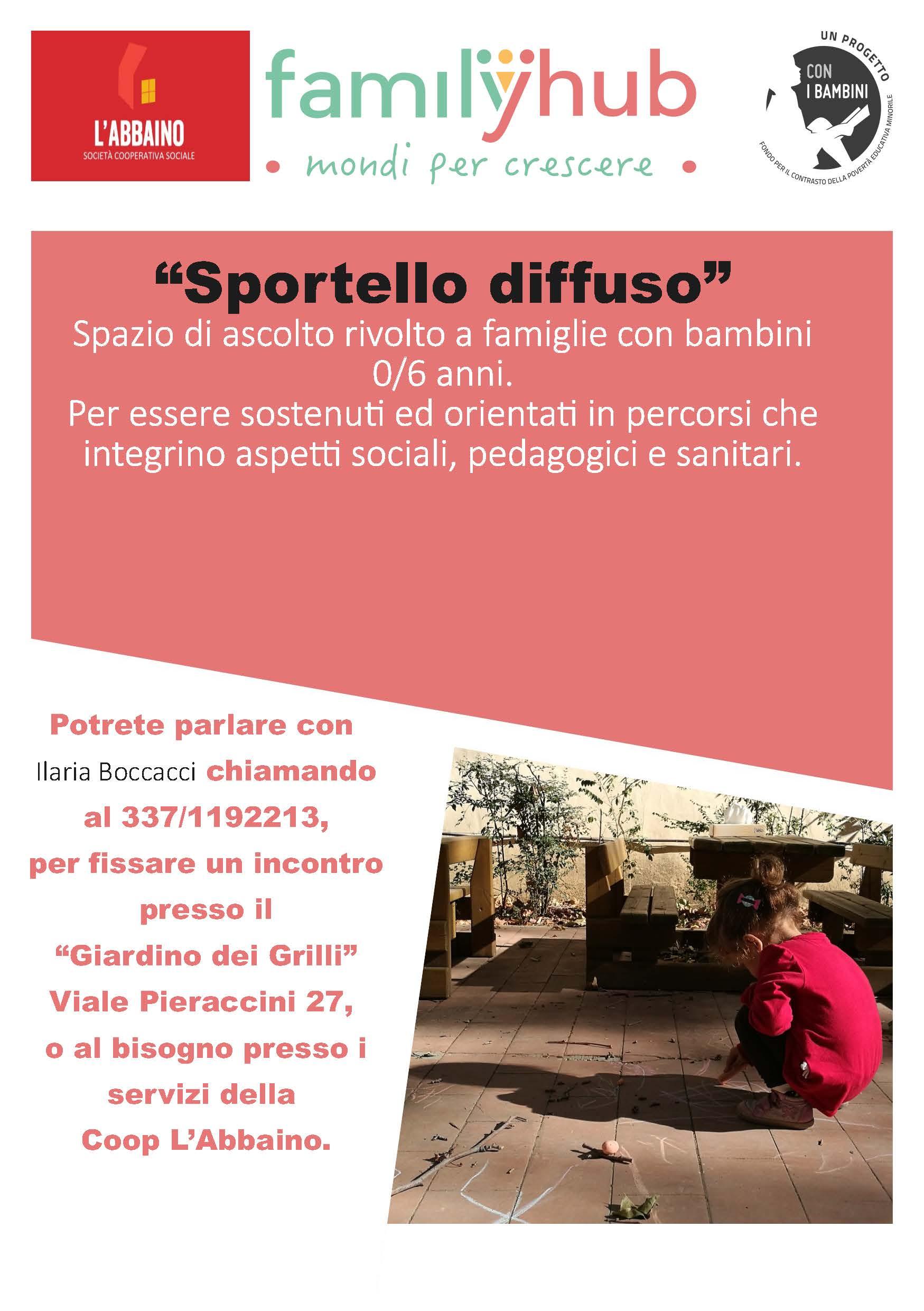"""""""Sportello diffuso"""""""